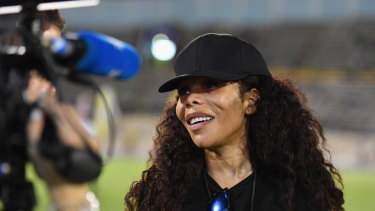 One love: Bob Marley's second-eldest daughter, Cedella, helped bring the Jamaican women's team back to life after years of inactivity.