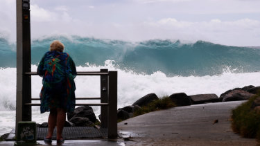 The Gold Coast is bracing for a pummeling.