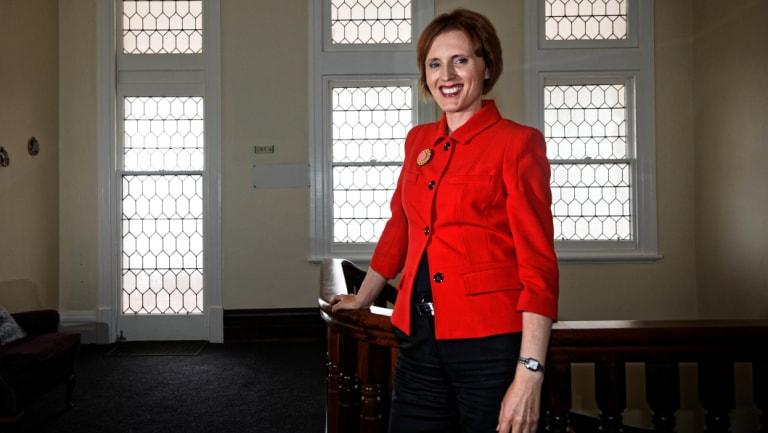 Geelong Grammar School principal Rebecca Cody.
