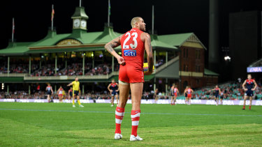 AFL return: Lance Franklin will be back in action for the Swans in round 10.