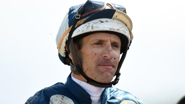Appeal: Hugh Bowman was suspended for 35 meetings after finishing second in the Melbourne Cup on Marmelo.