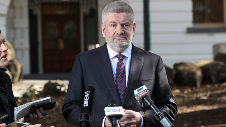 Communications Minister Mitch Fifield is keeping the report under wraps for the time being.