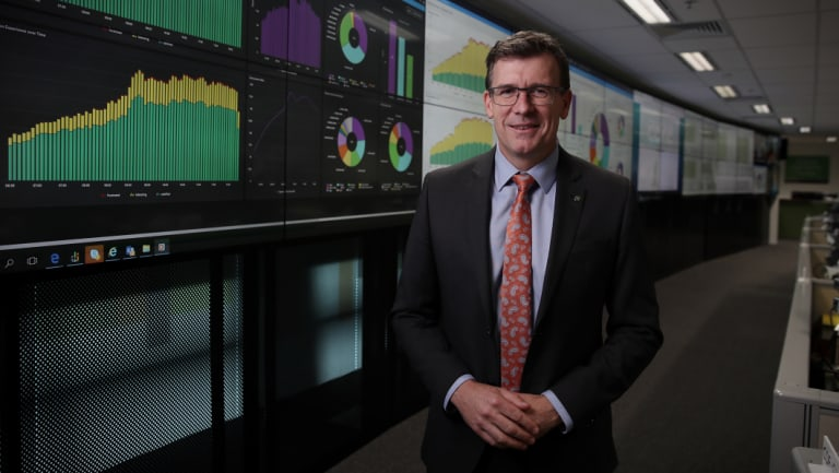 """The """"minister for congestion-busting"""", Alan Tudge."""