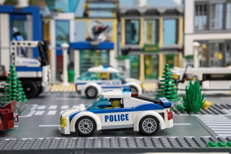 A lego city will show when the hackers are successful in disabling networks as part of the Department of Human Services' cyber war games.