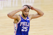 Ben Simmons has been suspended for one match by the 76ers.