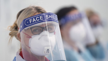 Healthcare workers fear being infected with COVID-19 due to restrictions on who can access protective equipment.
