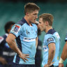 The Waratahs have registered just one win from four starts in Super Rugby AU.