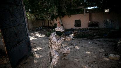 Fighting escalates in Libya despite virus threat