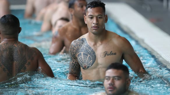 Missing ink: Wallabies happy to cover tattoos in Japan for World Cup