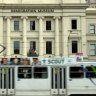 Drug gang member 'caught red handed' outside museum, court told