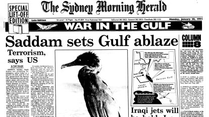 From the Archives, 1991: Saddam sets Gulf ablaze