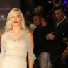 Glamorous wife on the catwalk while her Sydney husband was executed