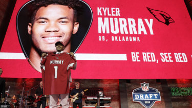 Kyler Murray was the No.1 pick in the 2019 NFL draft.
