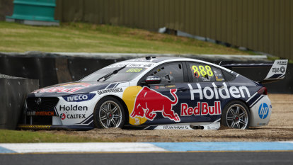McLaughlin back on track at Sandown, Whincup runs off it