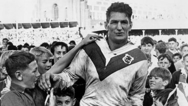 Immortal Norm Provan was laid to rest on Monday.