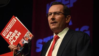 As WA Liberals sandbag their strongholds, Mark McGowan gathers powerful friends