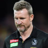Magpies fine 'Phill Inn' Sier for lying, but he's free to play