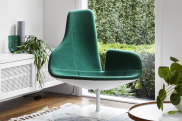 """Fjord"" chair by Spanish designer Patricia Urquiola for Moroso."