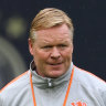 Barcelona appoint Koeman as new coach