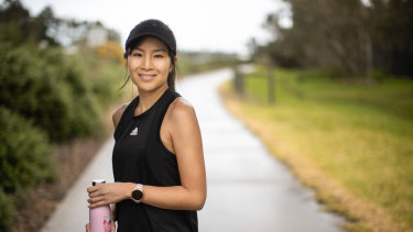 Ann Nguyen ramped up her running during the COVID lockdowns.
