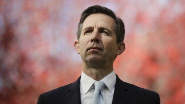 Trade Minister Simon Birmingham has called out China for using trade as a weapon.