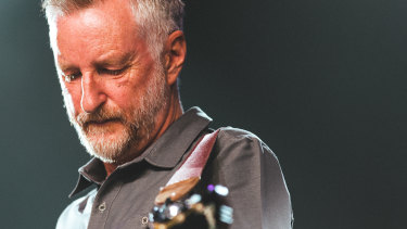 Fire still burns: Billy Bragg.
