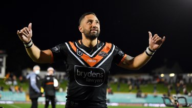 The farewell tour looks set to continue for Benji Marshall at South Sydney in 2021.