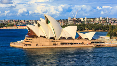 Jørn Utzon's winning design ended up costing $102 million to build.