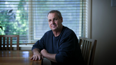 Shane White has become a disability support worker after losing his manufacturing job in the pandemic.