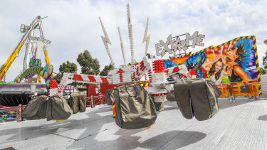 The Extreme ride at the Melbourne show.