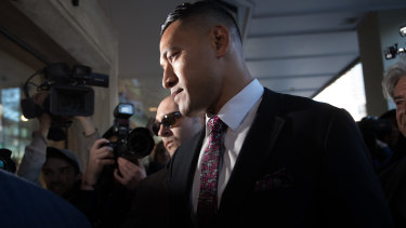 Israel Folau had put himself forward to play for Tonga in rugby league.