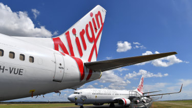 Virgin Australia went into voluntary administration in April with debts of $6.8 billion.