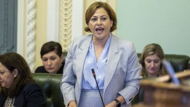 Jackie Trad will be referred to the CCC by the opposition.