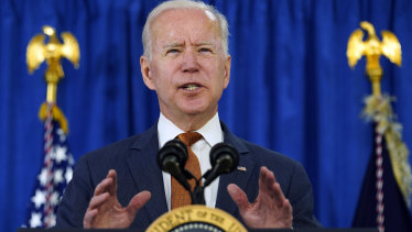 Joe Biden has been on a spending spree since taking over in the White House.