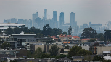Treasurer Tim Pallas is looking to the cranes in the sky as a sign of Victoria's economic growth.