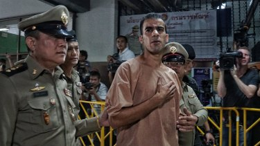 Solidarity: the FFA has cancelled a trip to Thailand as protests around the treatment of Hakeem al-Araibi continue to grow.