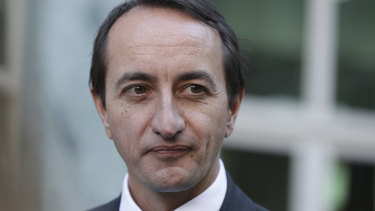 "Dave Sharma said he had a ""watching brief"" on events in Hong Kong."