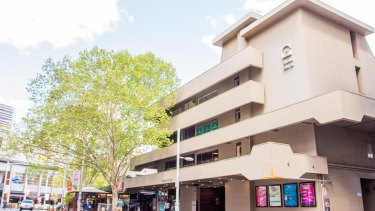 50 Bunda Street was constructed in 1966 and designed by modernist architect Enrico Taglietti.
