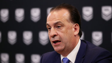 Peter V'landys looks to be closing in on securing his stadiums plan for Sydney.