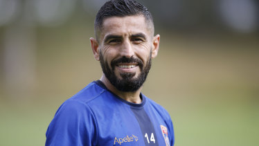 'I am so proud': Ali Abbas set to make his 150th appearance in the A-League.