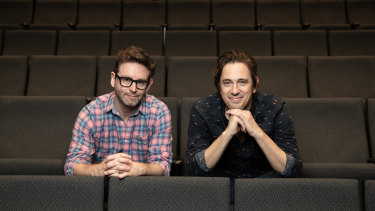 Queensland Theatre's artistic director Sam Strong and author of Boy Swallows Universe Trent Dalton are eager to see the theatre production come into fruition.
