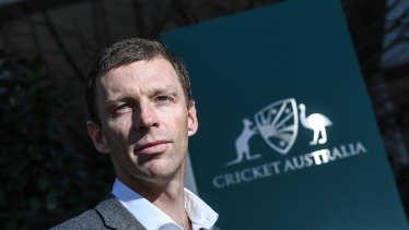 Cricket Australia's new high performance chief Drew Ginn.
