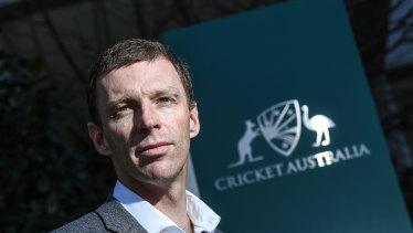 Cricket Australia's new high performance chief Drew Ginn.