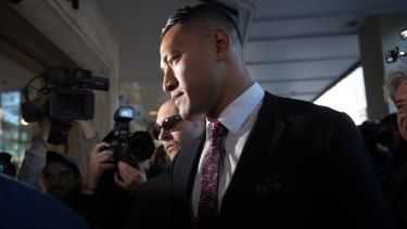 Israel Folau is seeking up to $10 million in damages from Rugby Australia and the NSW Waratahs.