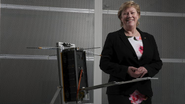 Chief of the Australian Space Agency, Dr Megan Clark.