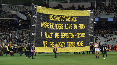 Fortress MCG: Richmond have dominated at home.