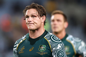 Losing Wallabies captain Michael Hooper was a bitter blow for the Waratahs.