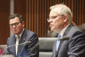 Prime Minister Scott Morrison is looking to crack down on agreements Premier Daniel Andrews has made with China.