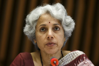 WHO's chief scientist Dr Soumya Swaminathan thinks vaccinated travellers could still spread coronavirus.