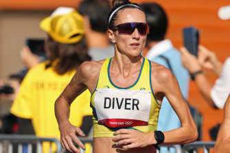 Sinead Diver finished strongly for 10th in the marathon.